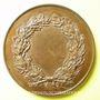 Coins Société de Tir de Nancy. Médaille en cuivre. 55 mm. Poinçon : abeille