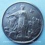 Coins Société protectrice des animaux à Paris. 1895. Médaille en argent. 41,5 mm. Gravée par A. Doublemard