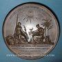 Coins Suède. Charles XIV Jean de Suède (1818-1844). Médaille bronze 1843