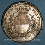 Coins Suisse. Fribourg.  Concours de Tir 1829. Médaille bronze argenté. 40 mm