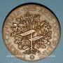 Coins Union Centrale des Arts Décoratifs. 7e exposition 1882. Médaille bronze. 49,3 mm