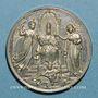 Coins Vatican. Léon XIII (1878-1903). Jubilé sacerdotal. (1888). Médaille étain