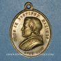 Coins Vatican. Pie IX (1846-1878). Concile oecuménique 1869, an XXIV. Médaille bronze (traces d'argenture)