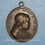 Coins Vatican. Pie IX (1846-1878). Jubilé religieux. 1847. Médaille bronze
