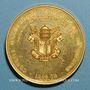 Coins Vatican. Pie IX (1846-78). Proclamation du dogme de l'infaillibité. Souverain Pontife 1870. Médaille