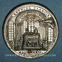 Coins Vatican. Pie VI (1775-1799). Visite à Joseph de Lorraine, empereur (1780-1790). Méd. étain. 42,6 mm.