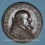 Coins Vatican. Urbain VIII. Construction du Palais de Castel Gandolfo. Médaille annuelle an XVI (1638)