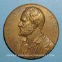 Coins Victor Hugo (1802-1885), né à Besançon. 1884. Médaille bronze
