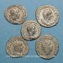 Coins Lot. Cinq antoniniens