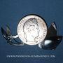 Coins Louis Philippe (1830-1848). 5 francs 1833A. Monnaie transformée en porte-outils