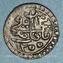 Coins Algérie. Emir Abd el-Kader (1250-1264H). 1 kharub 1255H. Tagdemt