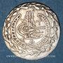 Coins Algérie. Mahmoud II (1223-1255H = 1808-1839). 1/6 boudjou 1245H (= 1830). Alger