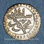 Coins Algérie. Mahmoud II (1223-1255H = 1808-1839). 1 kharoub 1242H (= 1827). Alger