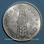 Coins Algérie. République. 5 dinars 1972/1962. 10e anniversaire de l'indépendance et FAO