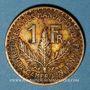 Coins Cameroun. Territoires sous mandat français (1919-1945). 1 franc 1924