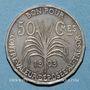Coins Guadeloupe & dépendances. 50 centimes 1903. Essai sans le mot le ESSAI