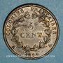 Coins Iles Marquises (Fenua Enata). Louis Philippe (1830-1848). 5 centimes 1844A