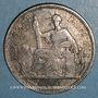 Coins Indochine française. 1 piastre de commerce 1902