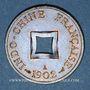 Coins Indochine française. 1 sapèque 1902A