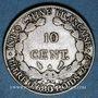 Coins Indochine française, 10 cent 1928A