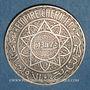 Coins Maroc. Mohammed V (1346-1380H). 20 francs 1347H
