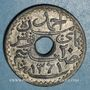 Coins Tunisie. Ahmed II, bey (1348-1361H = 1929-1942). 20 centimes 1942