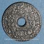 Coins Tunisie. Mohammed al -Amine, bey (1362-76H). 20 cmes 1945. Essai