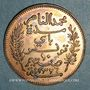 Coins Tunisie. Mohammed En-Naceur (1324-1340H). 10 centimes 1908A