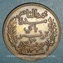 Coins Tunisie. Mohammed En-Naceur (1324-1340H). 10 centimes 1912A