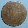 Coins Tunisie. Tunis. Café Zarrouk, Sidi-el-Bari. 50 centimes