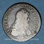 Coins Ardennes. Duché de Bouillon. Godefroy-Maurice de la Tour d'Auvergne. Double de France. 1683