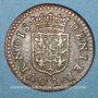Coins Ardennes. Principauté d'Arches & Charleville. Charles I de Gonzague (1601-37). Denier tournois 1609