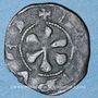 Coins Auvergne. Evêché du Puy. Obole (début du XIVe siècle). Type avec légendes