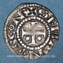 Coins Berry. Comté de Sancerre. Etienne I (1152-1191). Denier