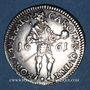Coins Besançon. 1/4 daldre 1661