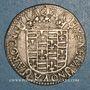 Coins Champagne. Principauté de Château-Renaud. Louise Marguerite de Lorraine (1614-29). Quatre sols