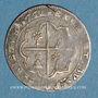 Coins Comtat Venaissin. Alexandre VIII (1655-1667). Au nom de Flavio Chigi. Luigino 1662. Avignon