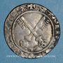 Coins Comtat Venaissin. Clément VII, antipape (1378-1394). Gros. Avignon