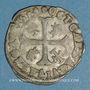 Coins Comtat Venaissin. Clément VIII (1592-1605). Au nom d'Octave d'Aquaviva. Douzain 1594. Avignon