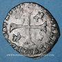 Coins Comtat Venaissin. Clément VIII (1592-1605). Monnayage au nom de Silvio Savelli. Douzain (1593-1594)
