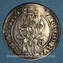 Coins Comtat Venaissin. Grégoire XI (1370-1378). Gros ou carlin