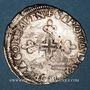 Coins Comtat Venaissin. Grégoire XIII (1572-85). Monnayage au nom du légat Charles de Bourbon. Six blancs