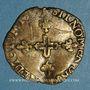 Coins Comtat Venaissin. Grégoire XIII (1572-85). Six blancs de faux monnayeurs