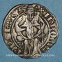 Coins Comtat-Venaissin. Innocent VI (1352-1362). Demi-carlin
