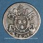 Coins Comtat Venaissin. Innocent XII (1691-1700). 1/12 d'écu 1693. Avignon