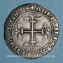 Coins Comtat Venaissin. Jean XXII (1316-1334). Gros ou carlin. Pont-de-Sorgues