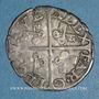 Coins Comtat Venaissin. Jules III (1550-1555). Monnayage au nom d'Alexandre Farnèse. 1/2 gros. Avignon