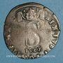Coins Comtat Venaissin. Sixte V (1585-1590). Pinatelle 1587. Avignon