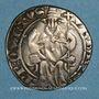 Coins Comtat Venaissin. Urbain V (1362-1370). Gros ou carlin. Avignon