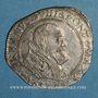 Coins Comtat Venaissin. Urbain VIII (1623-1644). Au nom de Antoine Barberini. Demi-franc 1637. Avignon